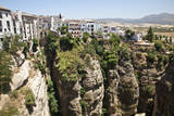 Spain, Andalusia, Malaga Province. Hillside town of Ronda. Photographic Print by Julie Eggers
