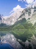 Lake Koenigssee, Nationalpark Berchtesgaden, Bavaria, Germany. Photographic Print by Martin Zwick