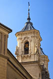 Spain, Granada. Bell tower of the Church of San Justo y Pastor. Photographic Print by Julie Eggers