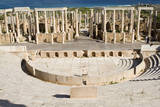 Roman Theater from 1-2 A.D, Leptis Magna, Libya. Photographic Print by Charles Cecil