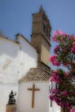 Spain, Andalusia, Malaga, Ronda. Iglesia de Nuestro Padre Jesus. Photographic Print by Julie Eggers