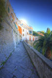 Tinny Back Alley in the Town of Amalfi. Photographic Print by Terry Eggers