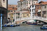 Venetian canal, Venice, UNESCO World Heritage Site, Veneto, Italy. Photographic Print by Nico Tondini