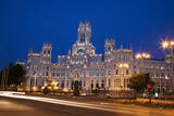 Spain, Madrid. The Palace of Communication. Photographic Print by Julie Eggers