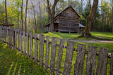 USA, Tennessee, Cabin in Cades Cove. Photographic Print by Joanne Wells