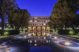 USA, California, Pasadena,Beckman Institute Reflecting Pool. Photographic Print by Rob Tilley