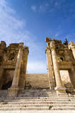 Propilaeum of the Temple of Artemis, Jerash, Gerasa, Jordan. Photographic Print by Nico Tondini