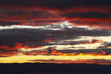 Sunset, Canberra, ACT, Australia Photographic Print by David Wall