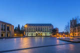 USA, Washington, Seattle, University of Washington Campus at Dawn Photographic Print by Rob Tilley