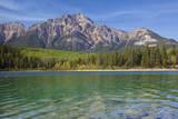 Patricia Lake and Pyramid Mountain, Jasper NP, Alberta, Canada. Photographic Print by Don Paulson