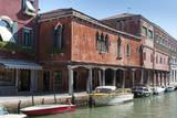 Canal on Murano Island, Venice, Veneto, Italy. Photographic Print by Nico Tondini