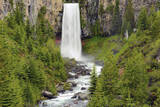 Tumalo Falls, Central Oregon, USA Photographic Print by Michel Hersen