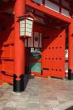 Japan, Kyoto. The entrance to Fushimi-Inari-Taisha Shrine. Photographic Print by Dennis Flaherty
