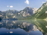 Lake Koenigssee, Nationalpark Berchtesgaden, Bavaria, Germany. Photographic Print by Martin Zwick