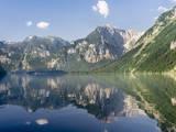 Lake Koenigssee, Nationalpark Berchtesgaden, Bavaria, Germany. Stampa fotografica di Martin Zwick