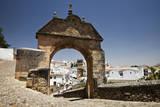 Stone archway to Puerta de la Exijara, Ronda, Malaga, Andalucia, Spain Photographic Print by Julie Eggers