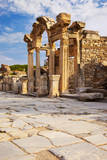 Temple of Hadrian along the paved Street of Curetes, Turkey. Photographic Print by Brian Jannsen