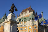 Canada, Quebec, Quebec City, Fairmont Le Chateau Frontenac hotel. Photographic Print by Jamie & Judy Wild