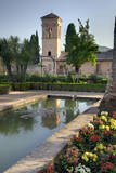 The Generalife gardens in the Alhambra grounds, Granada, Spain. Photographic Print by Julie Eggers