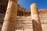 Roman amphitheater, Petra, UNESCO Heritage Site, Jordan. Photographic Print by Nico Tondini