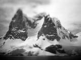 Antarctica, Mountain peaks along Cape Renaud. Photographic Print by Paul Souders