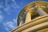 USA, Washington DC. Columns atop the dome of the U.S. Capitol. Photographic Print by Christopher Reed
