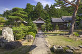 Grounds of the Shingon-in Temple, Nara, Japan. Photographic Print by Dennis Flaherty