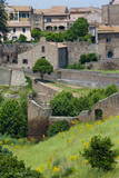 City ramparts, Tuscania, Viterbo, Latium, Italy. Photographic Print by Nico Tondini