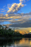 Clouds over the Amazon basin, Peru. Photographic Print by Tom Norring