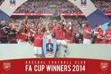 Arsenal - FA Cup Winners Poster