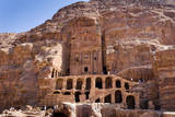 Royal Tombs, Petra, UNESCO Heritage Site, Jordan. Photographic Print by Nico Tondini