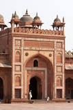 Shahi Darwaza of the Jama Masjid, Fatehpur Sikri, Uttar Pradesh, India Photographic Print by Charles Cecil