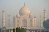 Taj Mahal, Agra, Uttar Pradesh, India. Photographic Print by Inger Hogstrom