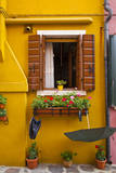Colorful Houses of Burano. Photographic Print by Terry Eggers