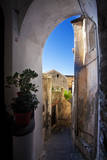 Italy, Amalfi, Tinny Back Alley in the Town. Photographic Print by Terry Eggers