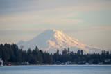 USA, Washington State, View of Mount Rainier. Reproduction photographique par Trish Drury