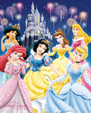 Disney Princess - Glamour Póster