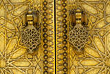 Royal Palace Doors, Dar El-Makhsen, Fez, Morocco. Photographic Print by Charles Cecil