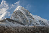 Mt. Pumori behind Kala Patthar, Nepal. Photographic Print by Lee Klopfer