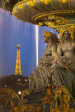Fontaine des Fleuves at Place de la Concorde, Paris, France Photographic Print by Brian Jannsen