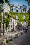 Morning in Montmartre, Paris, France. Photographic Print by Brian Jannsen