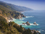 USA, California. California coast, Big Sur region. Photographic Print by Anna Miller