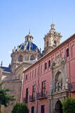 Spain, Granada. Church of San Justo y Pastor. Photographic Print by Julie Eggers