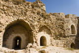 The crusader fort of Kerak Castle, Kerak, Jordan. Photographic Print by Nico Tondini