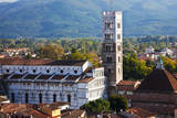 Italy, Lucca, Duomo di San Martino and its Tower. Photographic Print by Terry Eggers
