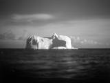Antarctica, Tabular iceberg floating near Deception Island. Photographic Print by Paul Souders