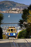 San Francisco cable car, California, USA Fotodruck von Brian Jannsen