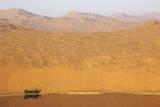 Desert landscape, Badain Jaran Desert, Inner Mongolia, China Photographic Print by Ellen Anon