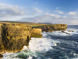 The Cliffs of Yesnaby in Orkney, Orkney islands, Scotland. Stampa fotografica di Martin Zwick