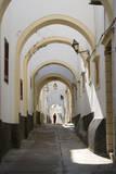 Arches along Medina Street, Tripoli, Libya. Photographic Print by Charles Cecil